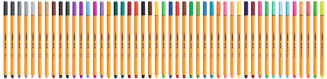 88 xx incl neon colors point88 47colors Pen