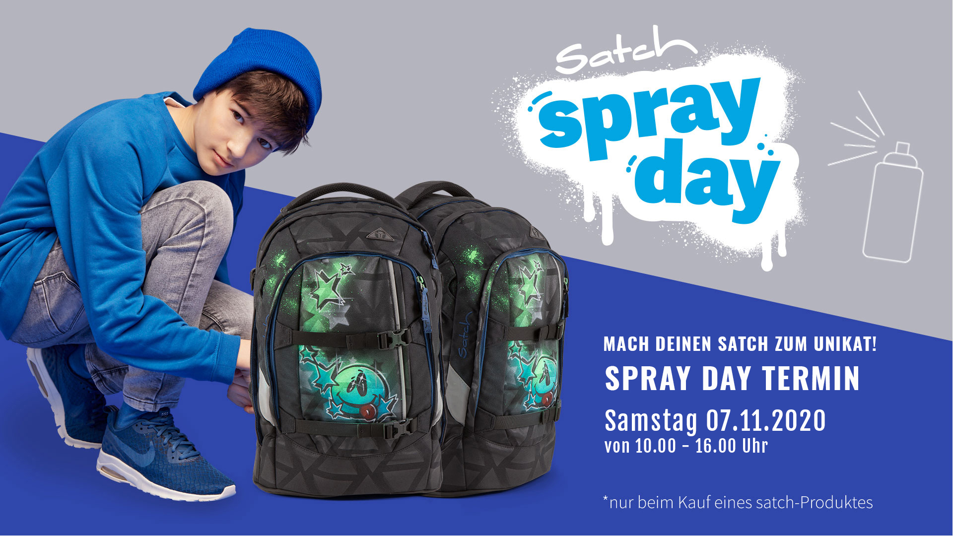satch termin-2020-november spray-day
